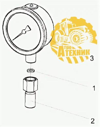 Манометр КЗК-12-0602810
