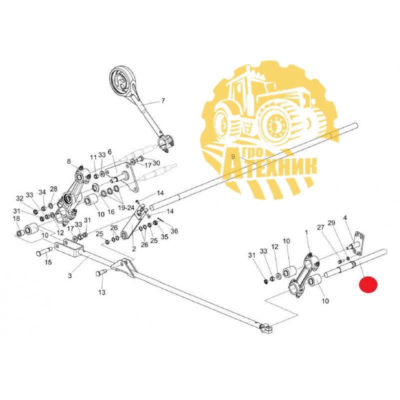 Труба КЗК-10-0202630  доски стрясной КЗС-1218