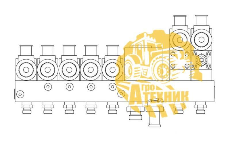 Гидроблок УЭС-7-0602100 (БСК 40МФ2-6/1,25Г-Г4У3)