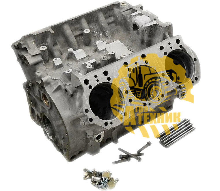 Блок-картер 236Н-1002012Ж турбованный со шпильками ЯМЗ-236