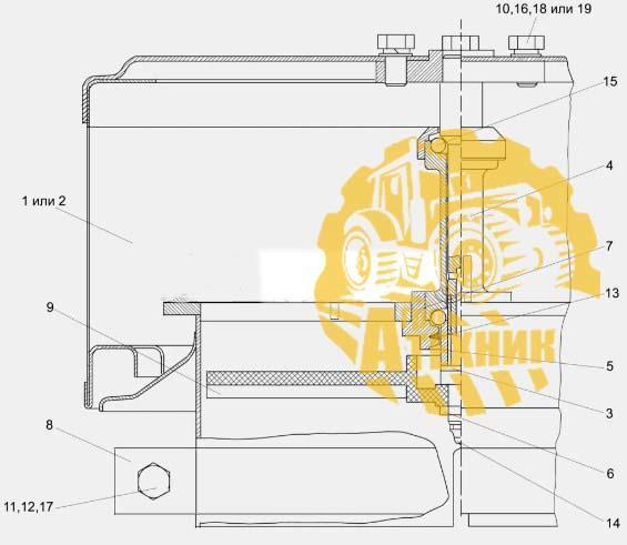 Воздухозаборник вращающийся 31-12С3-1А  УЭС-2-250