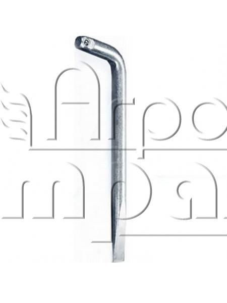 Ключ (вороток)с присоединительным квадратом, изогнутый с лопаткой, 230мм.