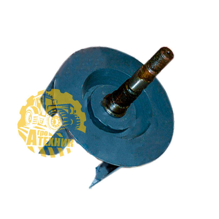 Вентилятор УЭС-7-0170030-04 (крыльчатка пылесоса радиатора) (шкив на резьбе) КЗС-1218/10К
