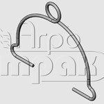 Скоба тукопровода СУПН-8