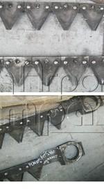 Нож режущего аппарата для редуктора Шумахер ДОН-680/М РСМ 1401 с 2010г Ростсельмаш