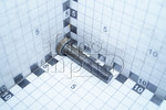 Болт М12х60х1,75 шестигранная головка, класс 5.8, неполная резьба
