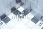 Гайка М 6х1,0 шестигранная, класс 6
